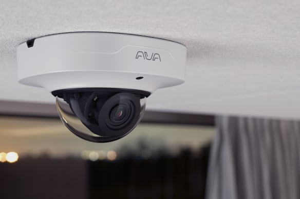 Meet Ava Compact Dome. A security camera for every indoor scenario.
