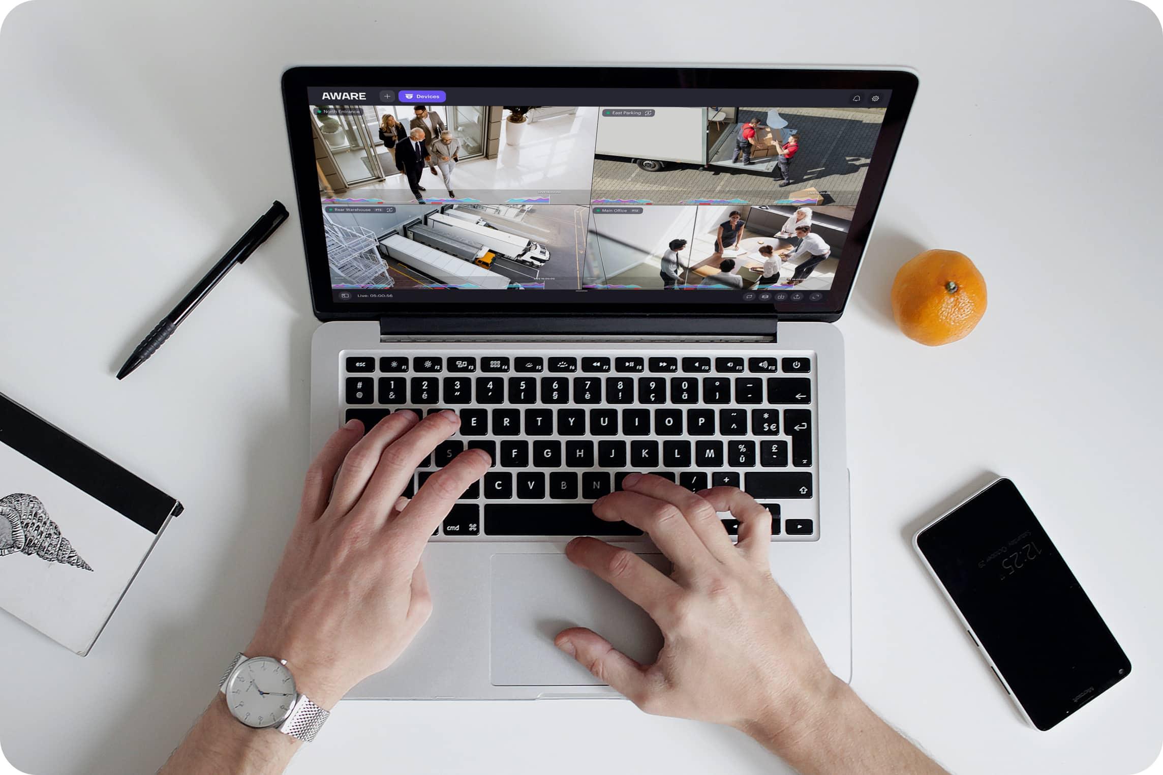 Aware laptop